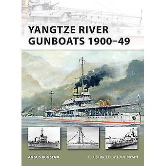 Yangtze River Kanonneerboten 190049 door Konstam & Angus
