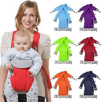 3-16 hónapos csecsemő babahordozó Sling Wrap Rider hátizsák első / hátsó csomag puha