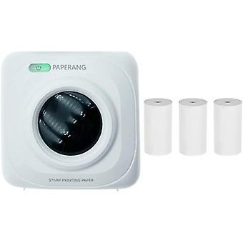 PAPERANG P1 Tragbarer Bluetooth 4.0 Drucker, Foto-Thermo-Fotodrucker, Telefon, kabellose Verbindung,
