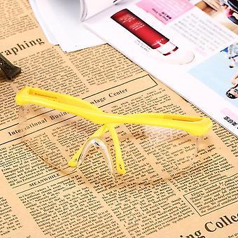 Óculos de segurança de pc de grande quadro proteção óculos de poeira dust wind splash proof