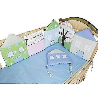 Sengetøj Sæt til Baby Girls Nursery Set Baby Quilt, krybbe ark