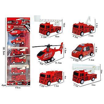 Coche de juguete de rescate contra incendios de niños