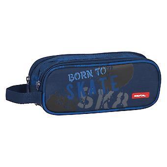 Double Tote Holder Skate Safta Navy Blue