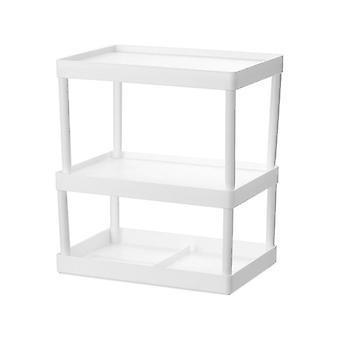 Cabinet Desktop Shelves Multi Layer Desktop Storage Rack Kitchen Organizer Holders & Racks