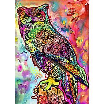 Bluebird Owl Jigsaw Puzzle (1000 Pieces)