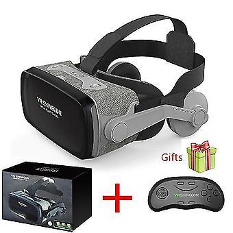 2019 Shinecon casque 9.0 vr gafas de realidad virtual gafas 3d google cardboard vr headset box para