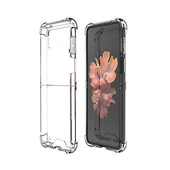 Hülle für Samsung Galaxy Z Flip 3 Schutzhülle Housse Coque Etui Handytasche - Transparent