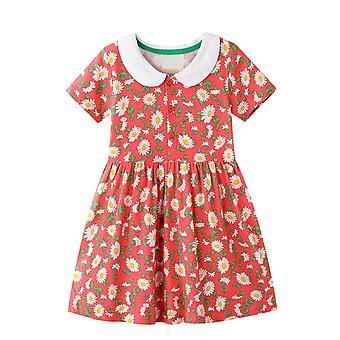 Baby Girls Princesse Kid Toddler Robe décontractée en coton sans manches