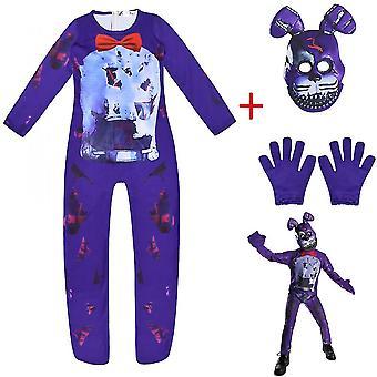 Cinq nuits de Freddy, costume de cosplay, costume d'Halloween