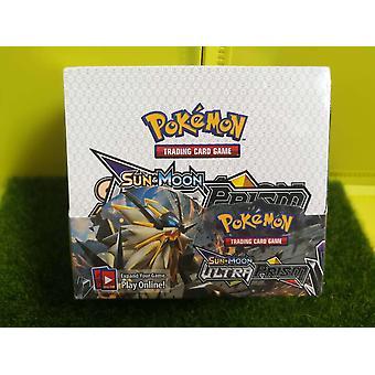 Cartas Pokmon Pokemon Ultimate Sun Moon Game Cards Inglés 36 Bolsas cada una con 9 estrellas