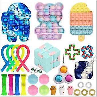 Sensory Decompression Toy Set Puzzle Diy Combination Toys -41