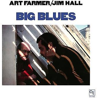Farmer, Art & Hall, Jim - Big Blues [Vinyl] USA import