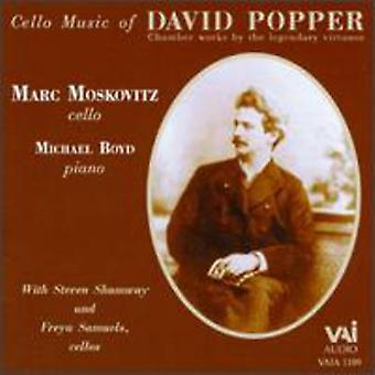 D. Popper - Popper: Cello Music of David Popper [CD] USA import
