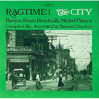 Ragtime #1: The City-Banjos Brass Bands & Nickel P - Ragtime #1: The City-Banjos Brass Bands & Nickel P [CD] USA import
