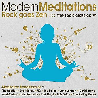 Moderni meditazioni - Rock va Zen: Importazione di The Rock Classics [CD] USA