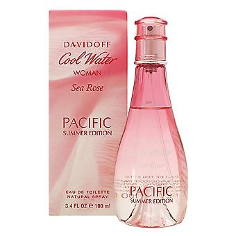 Davidoff Cool Water Woman Sea Rose Pacific Summer Edition Eau de Toilette 100ml EDT Spray