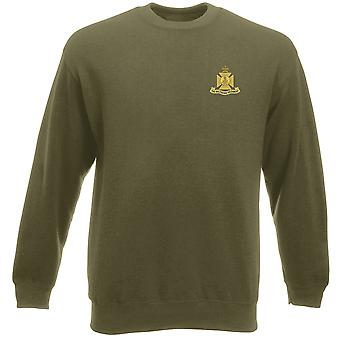 The Wiltshire Regiment Embroidered Logo - Official British Army Heavyweight Sweatshirt