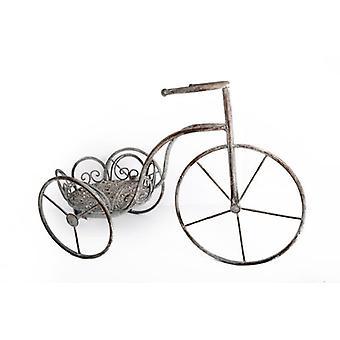 56 cm CLASSIC COUNTRY GARDEN FLOWER fiets PLANTER decoratie driewieler STAND