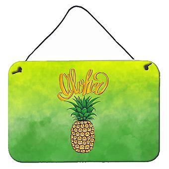 Aloha ananas Bienvenue mur ou porte accrocher impressions