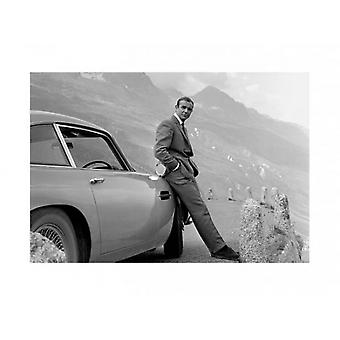 James Bond - Aston Martin Poster Poster Print