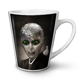 Being Mars Mystic NEW White Tea Coffee Ceramic Latte Mug 12 oz | Wellcoda
