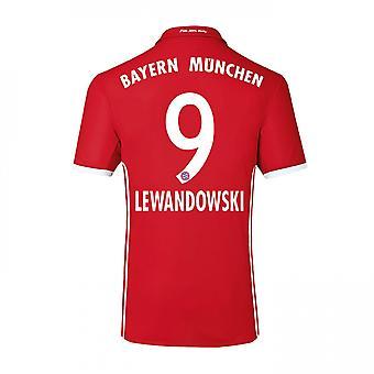 2016-17 Bayern hem skjorta (Lewandowski 9) - barn