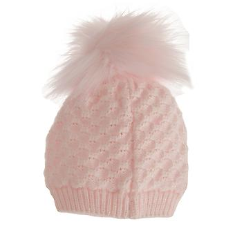 Asilo nido tempo neonate Bobble inverno cappello all'uncinetto