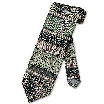 Antonio Ricci SILK NeckTie Made in ITALY Geometric Design Men's Neck Tie #3106-2