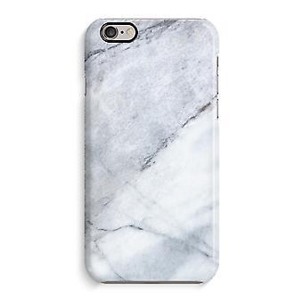 IPhone 6 6s sag 3D Case (blank)-marmor hvid