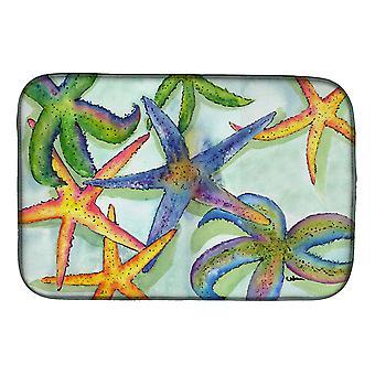 Carolines Treasures  8542DDM Starfish Dish Drying Mat