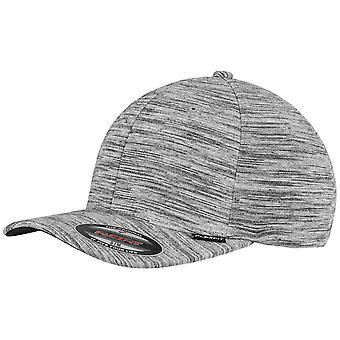 Flexfit stripes Cap - melange grey