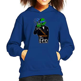 The Great Leo Teenage Mutant Ninja Turtles Gatsby Mix Kid's Hooded Sweatshirt
