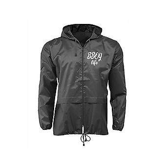 HIPHOP73 B-boy Life Windbreaker Jacket Black