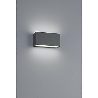 Trio iluminação moderna Trent antracite Diecast alumínio lâmpada de parede