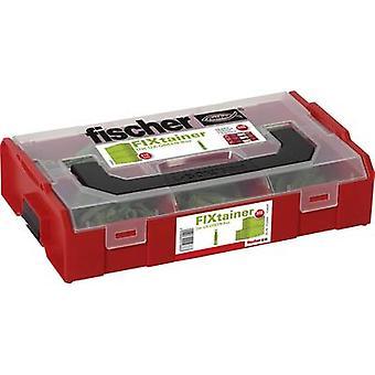 Fischer 532894 FIXtainer-The UX-green-Box Content 210 Parts