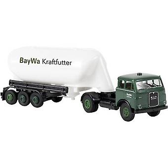 Brekina 97807 H0 MAN BayWa uier silo vrachtwagen feed