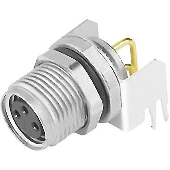 Binder 09 3418 82 03-1 Sensor/actuator built-in connector M8 Socket, right angle No. of pins (RJ): 3 1 pc(s)
