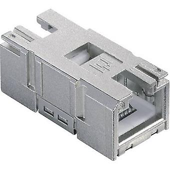 Metz Connect 1401200810MI 8P8C RJ45 Connector, straight Grey