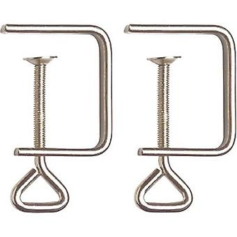 Donau Elektronik Table clamps (force) 2 PIECE M24