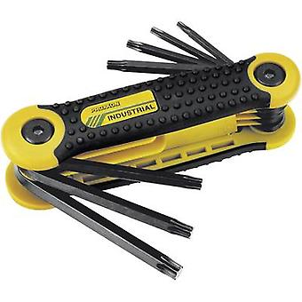 Proxxon Industrial 23 954 - 8-Piece Pocket TORX Key Set (TX)