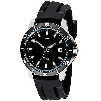 JOBO наручные часы кварцевые аналоговые нержавеющей Дата Часы