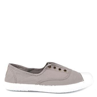 Victoria Shoes Dora Gris Canvas Plimsoll