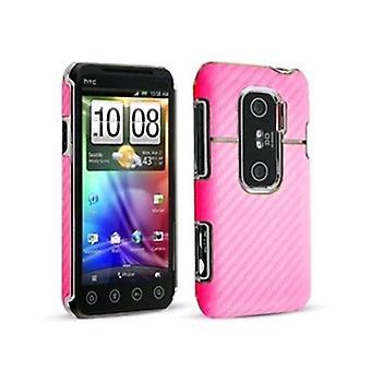 Technocel Graphite Shield for HTC Evo 3G - Pink