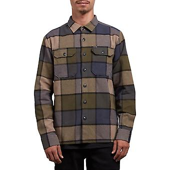 Volcom Randower Camicia a maniche lunghe in militare