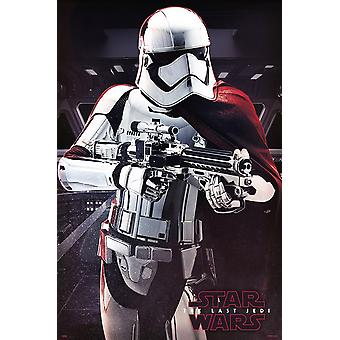 Star Wars Episode 8 plakat kaptajn Phasma