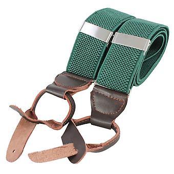 Knightsbridge Neckwear Luxury Braces - Green