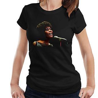 TV vezes Dionne Warwick viver t-shirt feminina