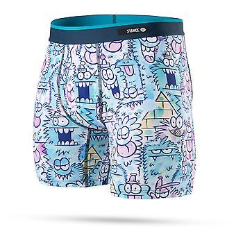 موقف الوحش الملابس الداخلية المائية في الأزرق