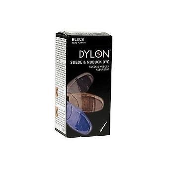 Dylon Velours- und Nubukleder Farbe mit Anwendung Pinsel 50ml