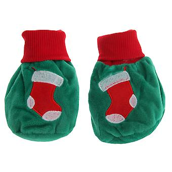 Nursery Time Baby Christmas Stocking Booties